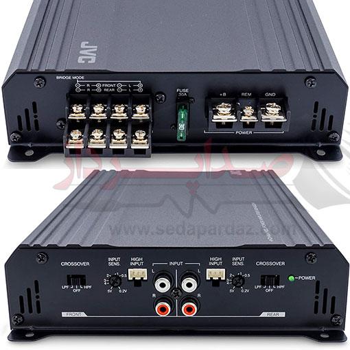 آمپلی فایر چهار کانال JVC مدل KS-AX204