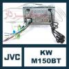 پخش تصویری جی وی سی JVC KW-M150BT
