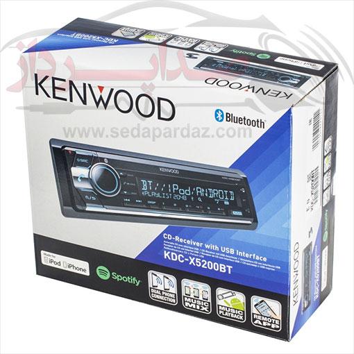 رادیو پخش کنوود Kenwood KDC-X5200BTM