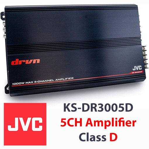 آمپلی فایر پنج کانال JVC مدل KS-DR3005D